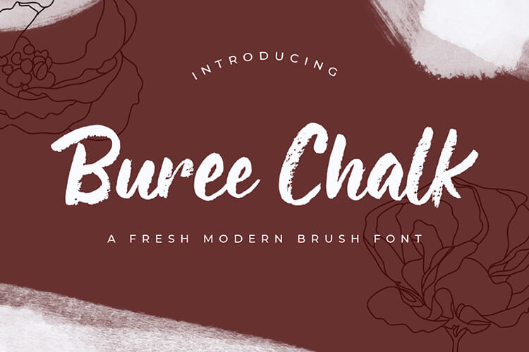 Preview image of Buree Chalk – Fresh Modern Script