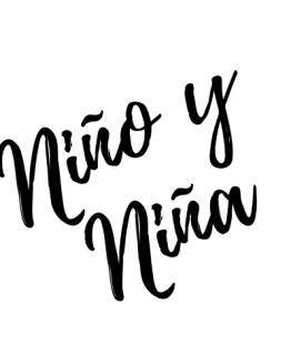 Niño/a