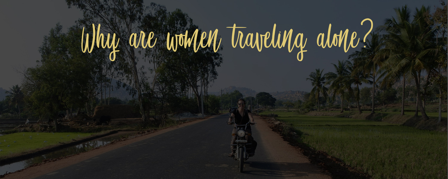 women traveling alone