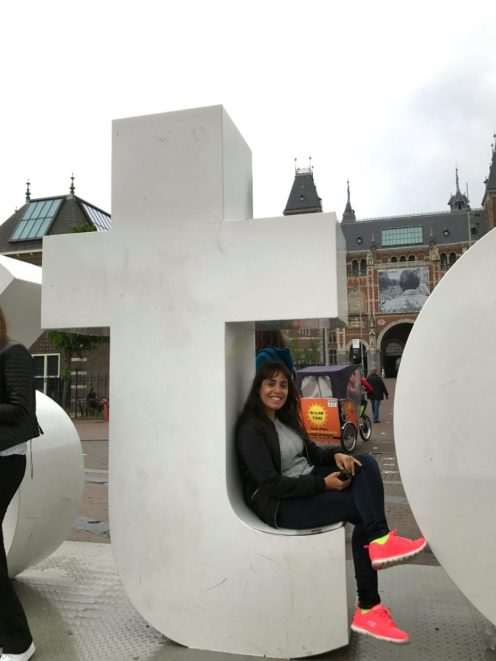 Letras I Amsterdam