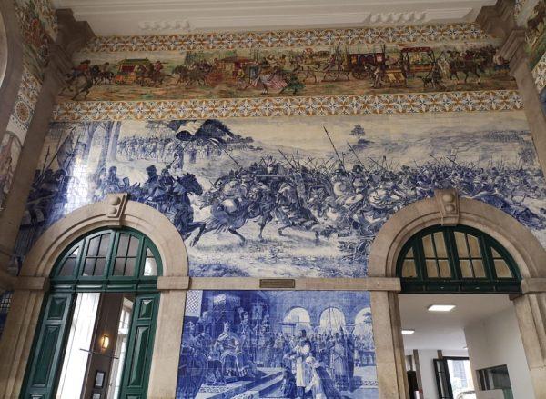 Que ver en Oporto en 2 días-estacion Sao Bento