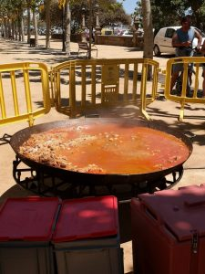 Paella en Calella
