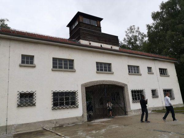 Entrada a Dachau