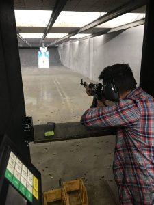 Disparar armas Las Vegas