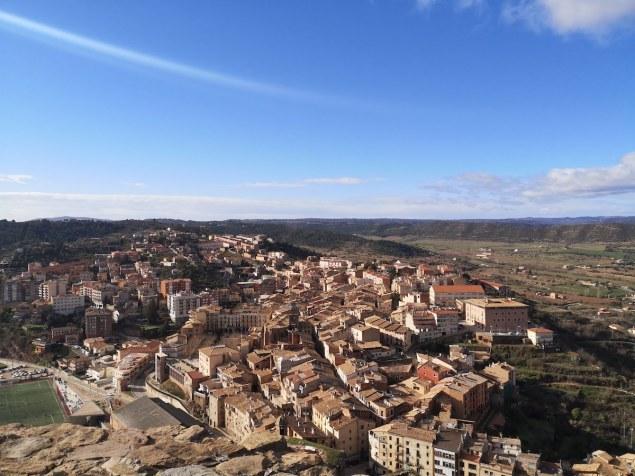 vistas desde la Torre de la Minyona Cardona
