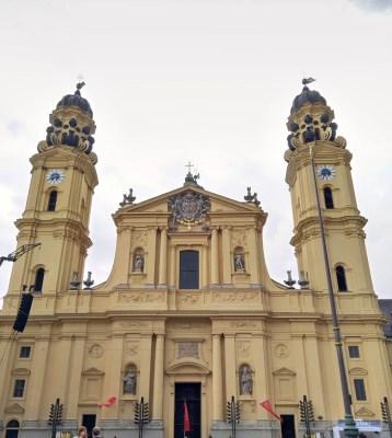 Iglesia de los Teatinos Munich