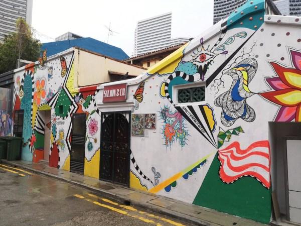 Street Art singapur arab quarter