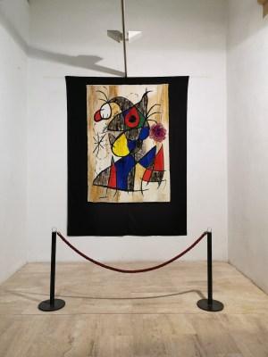 Miró original en Mont-Roig