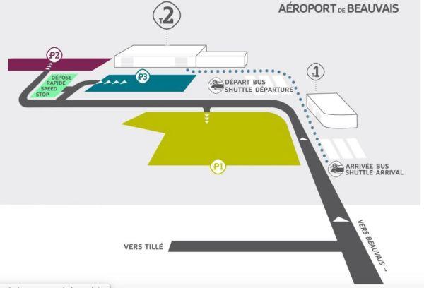 Como ir del aeropuerto de Beauvais a París
