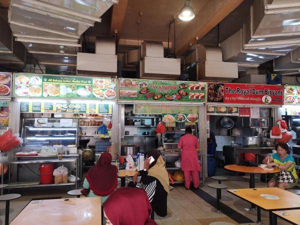 Food court Tekka Market