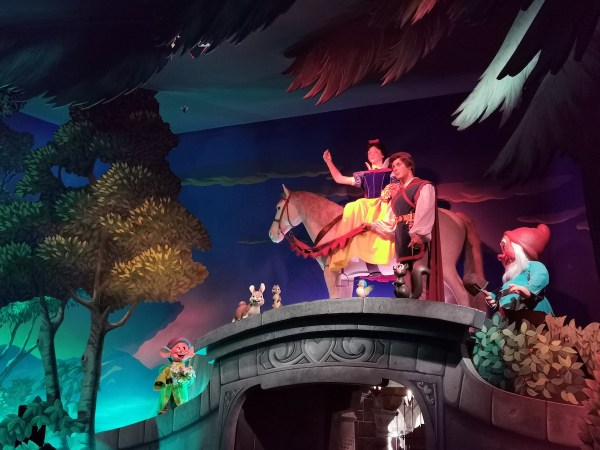 Blancanieves Disneyland Paris