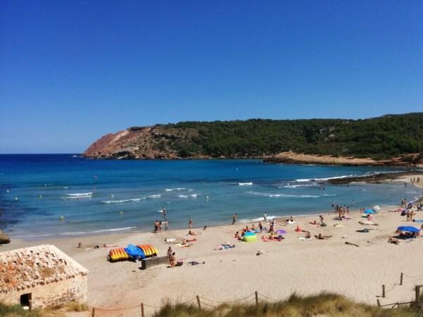 Las mejores playas de Menorca La Vall