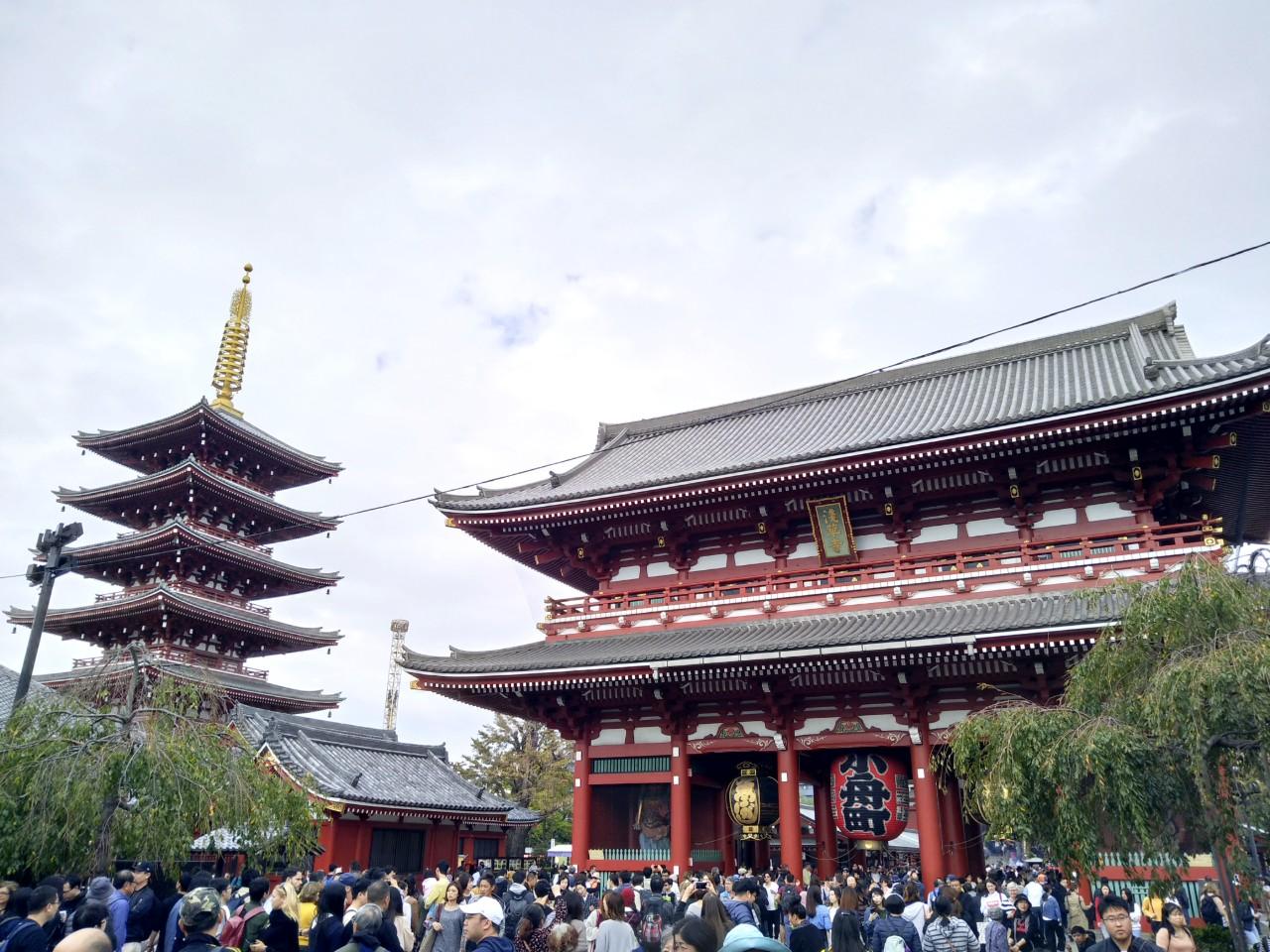Templo Senso-ji Tokio