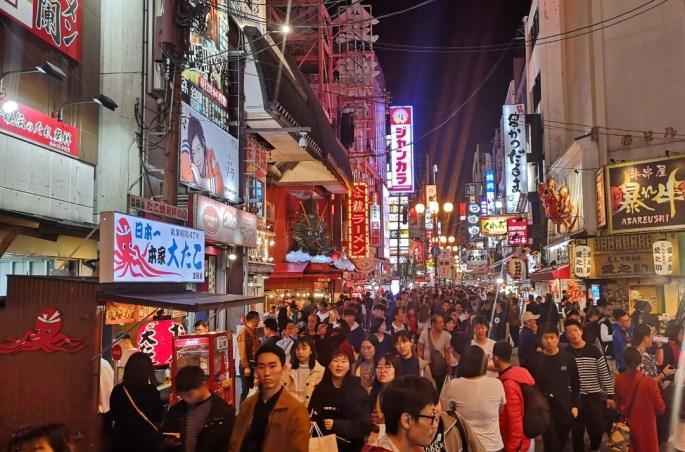 donde comer en Osaka