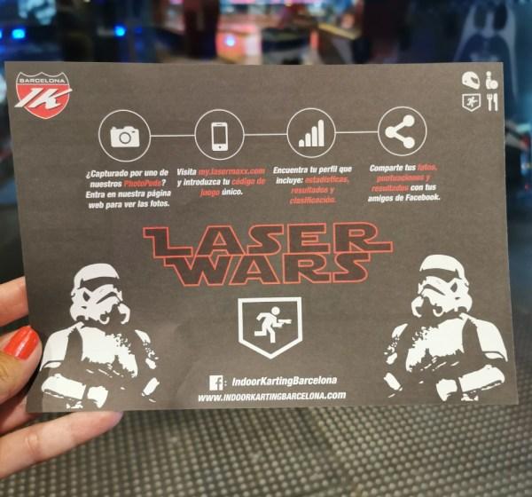 laser tag indoor karting barcelona