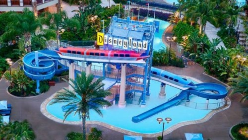 hoteles donde dormir en Disneyland Park California