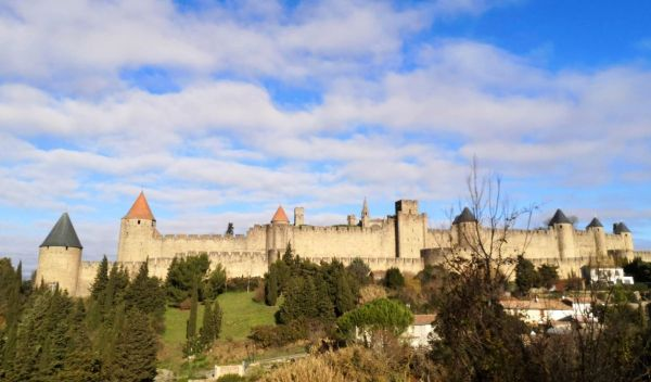 Vistas a la Cité de Carcassonne