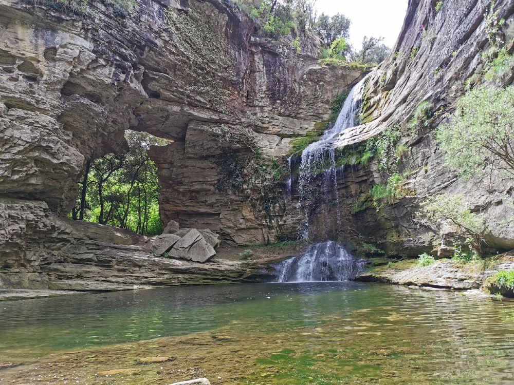 cascada Foradada Cantonigròs