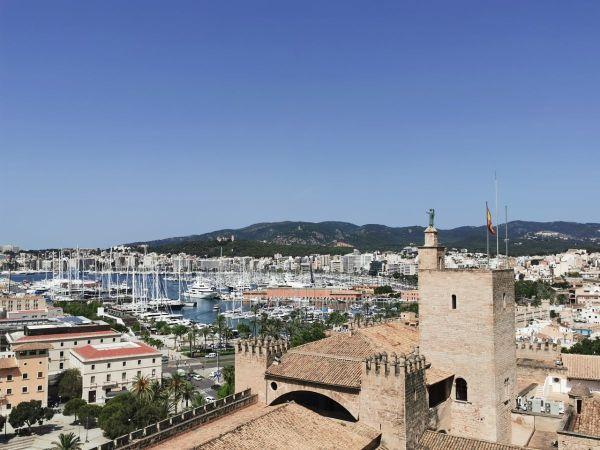 vistas terraza Catedral de Mallorca