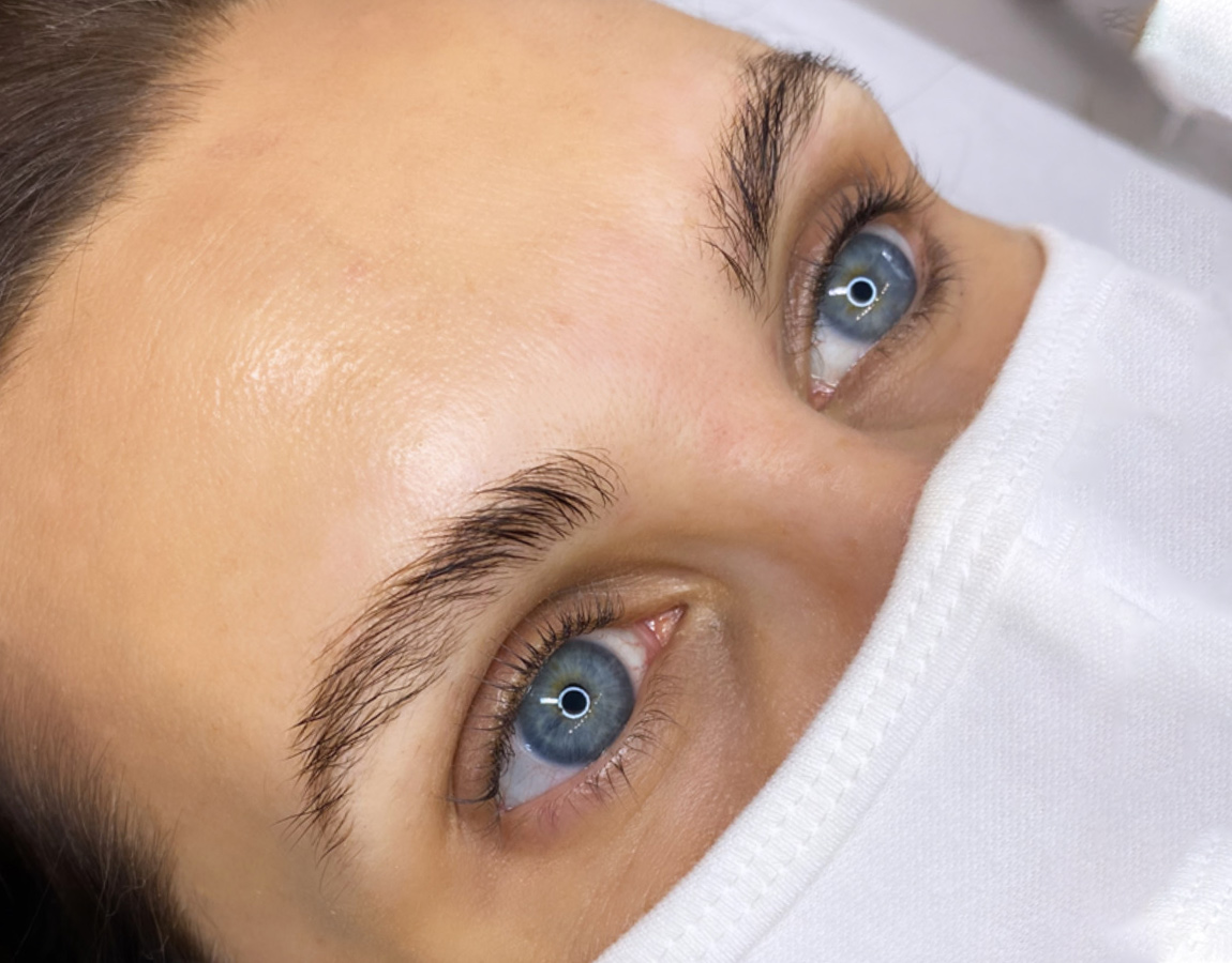 Before Powder Brows Treatment