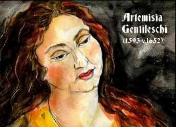 Artemisia Gentileschi by Nuria Vives