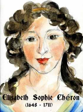 Elisabeth Sophie Cheron by Núria Vives