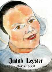 Judith Leyster by Nuria Vives
