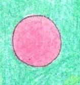 丸を塗った図