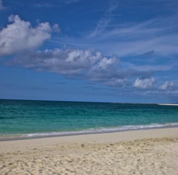 חוף הים המדהים בבהמס.
