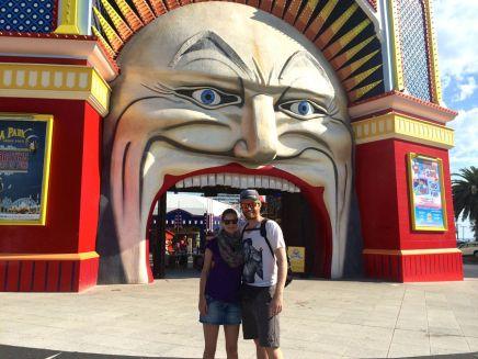 Luna Park in St. Kilda (Kirmes)