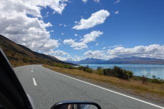 Weg Mt. Cook