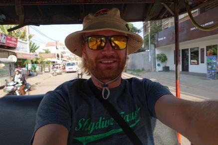 Auf dem Weg zu Angkor Wat