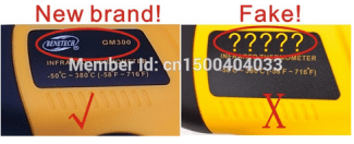 GM320 Infrared Thermometer 8