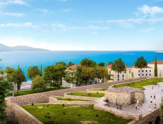 Exclusive coastal property Montenegro