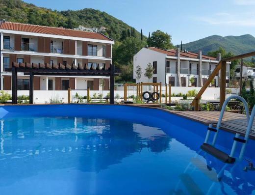 pool in tivat montenegro