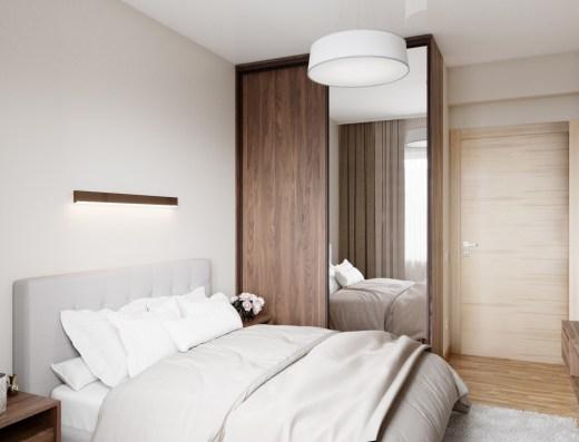modern bedroom new development