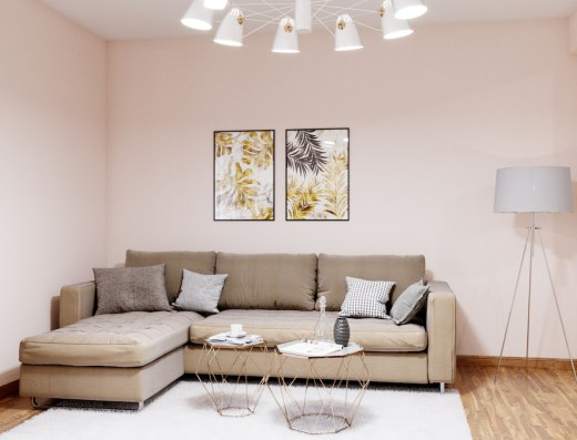 modern living space becici