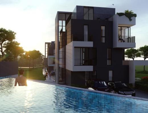 pool new development tivat