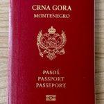 Montenegrin passport