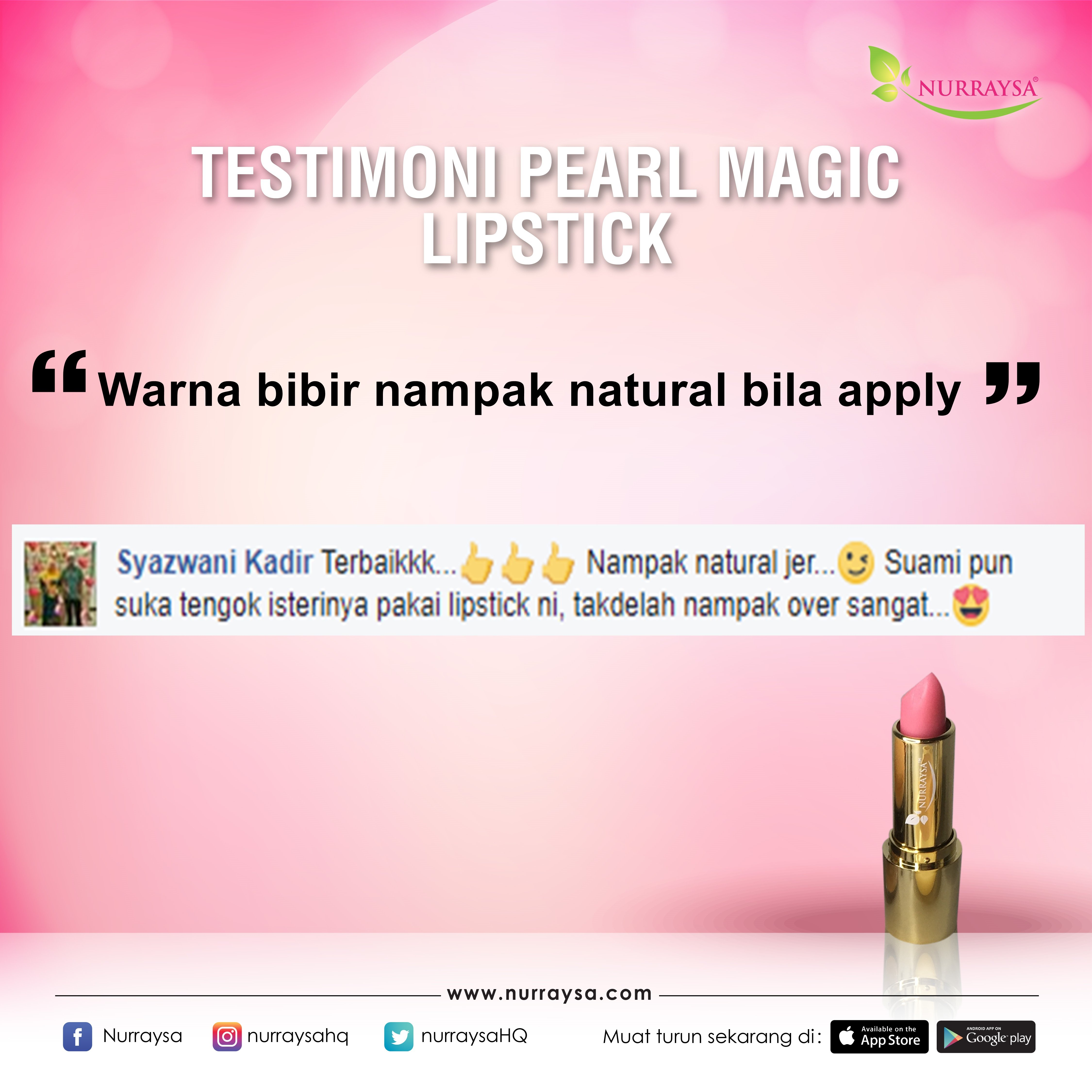 Testimoni Magic Lipstick 2