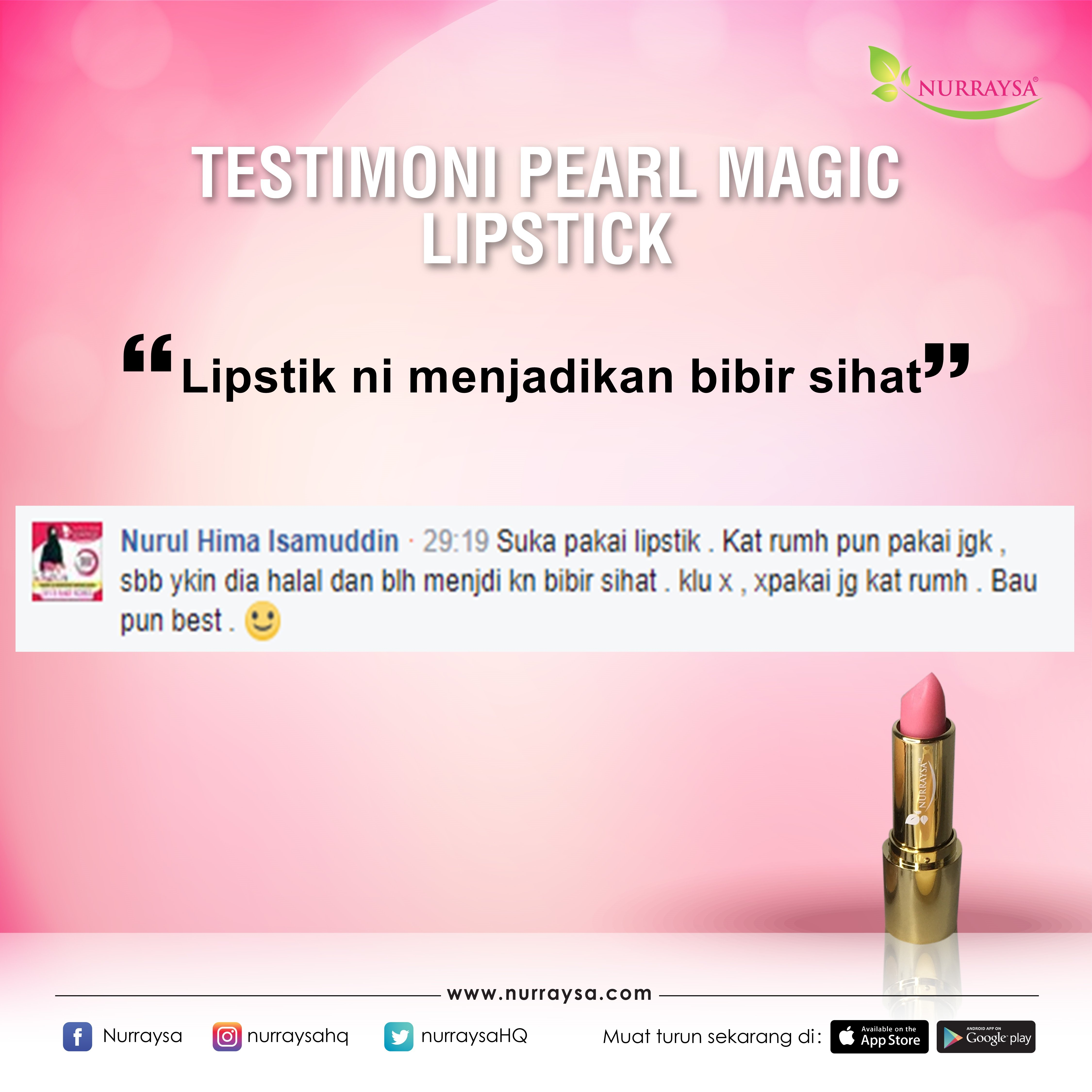 Testimoni Magic Lipstik 1