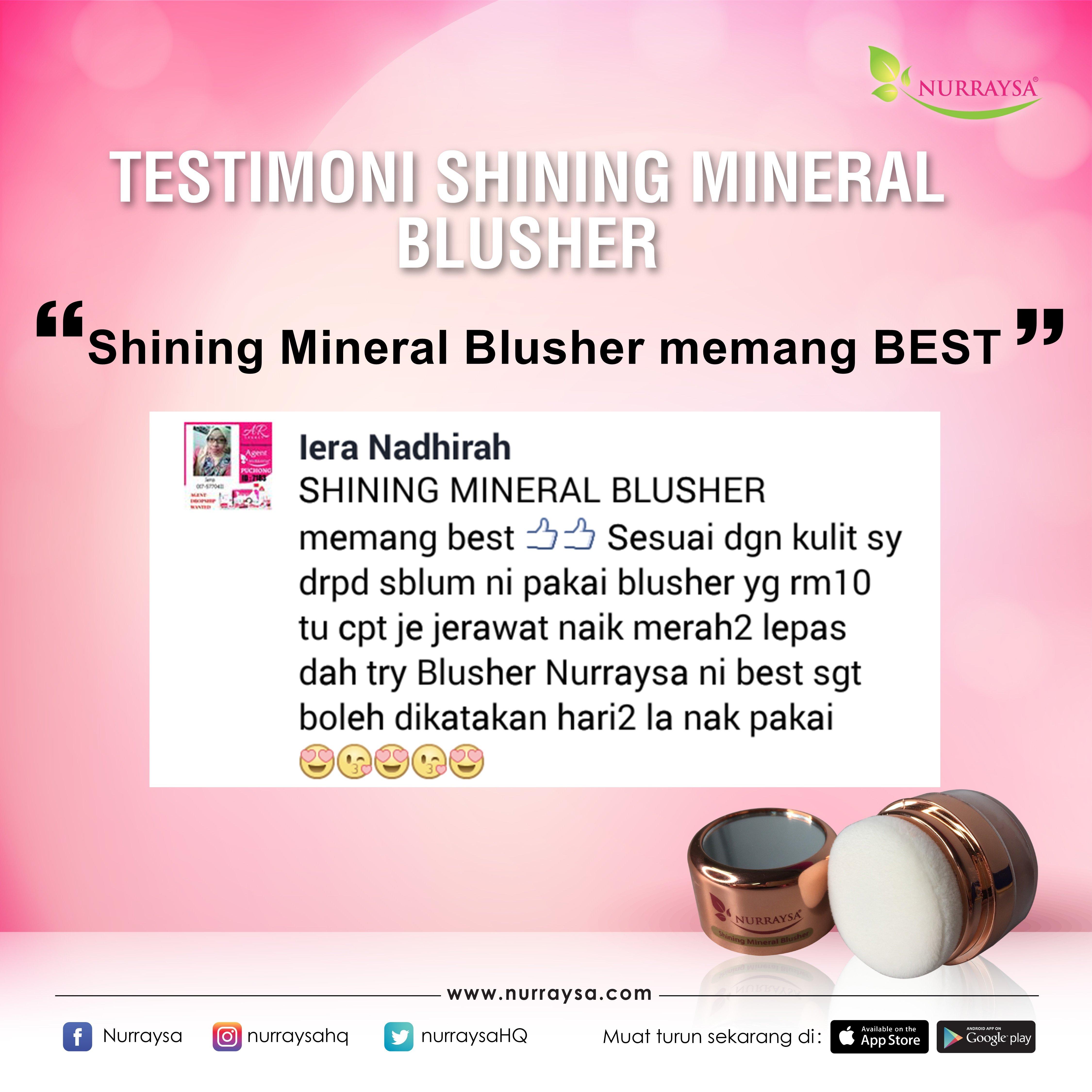Testimoni Mineral Blusher 5