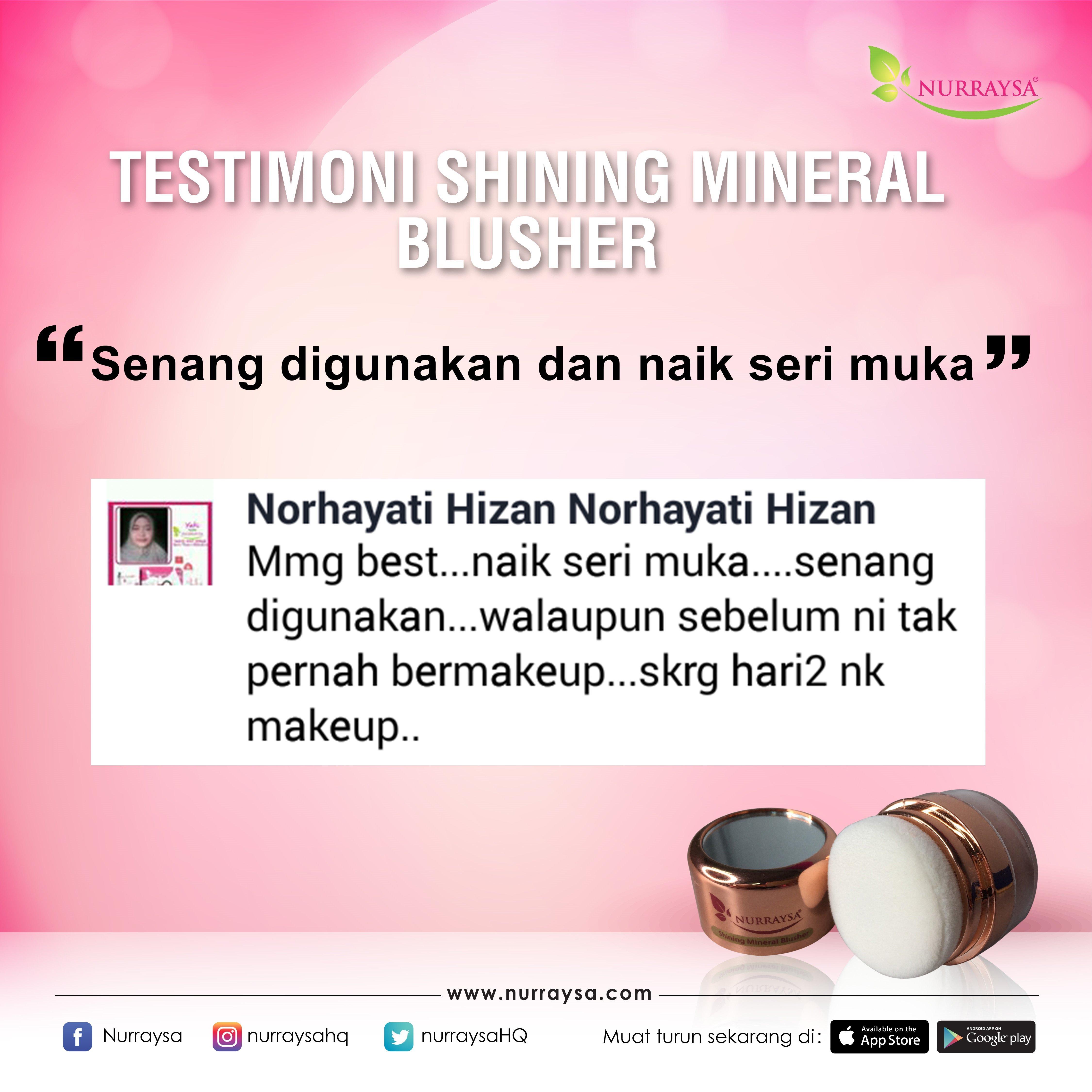 Testimoni Mineral Blusher 7