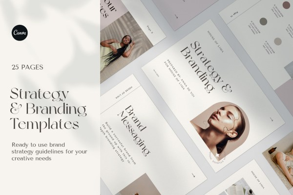 Stylish Branding Guidelines and Brand Identity Templates