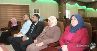 The Psychological Guidance and Educational Guidance unit at our college holds a scientific lecture