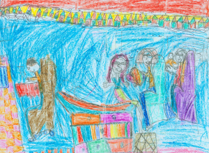 A 7-yeas-old Girl's Depiction on her MD Visit Toll E. The cost of technology. JAMA
