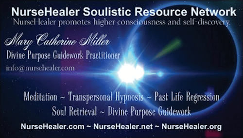 NurseHealer Soulistic Resource Network Business Card