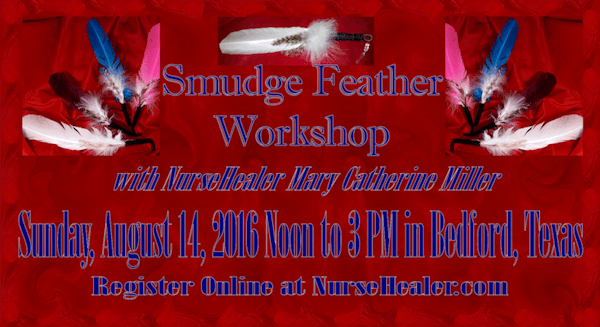 Smudge Feather Workshop