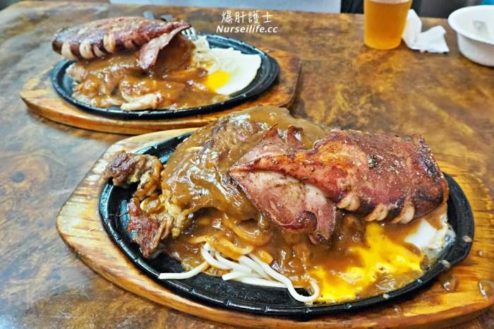 北投市場牛王子牛排.搭配小卷的雙拼排餐便宜超值又飽翻