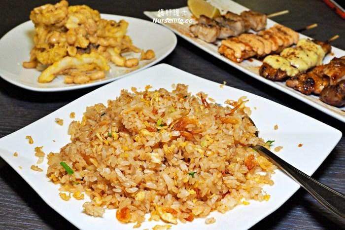 博串燒居酒屋 吃串燒搭配入圍「炒飯王」的臺灣國寶櫻花蝦炒飯,讓美味更加分!
